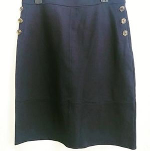 Liz Claiborne Navy short Skirt